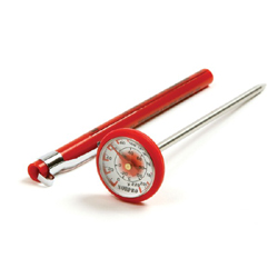 Instant Read Thermometer (Red - Silicone)