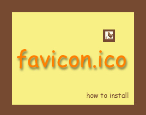 click here to read about favicons