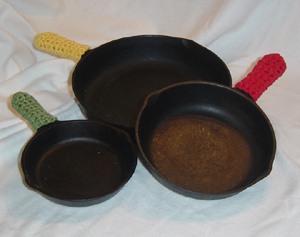 click here to learn about caring for cast iron cookware